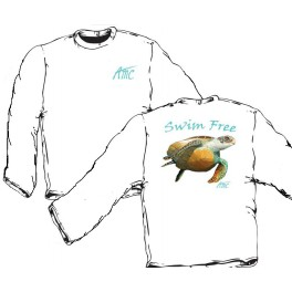 Swim Free Long Sleeve T-Shirt